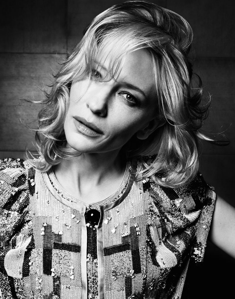 CATE BLANCHETT BY GIANLUCA FONTANA FOR IO DONNA