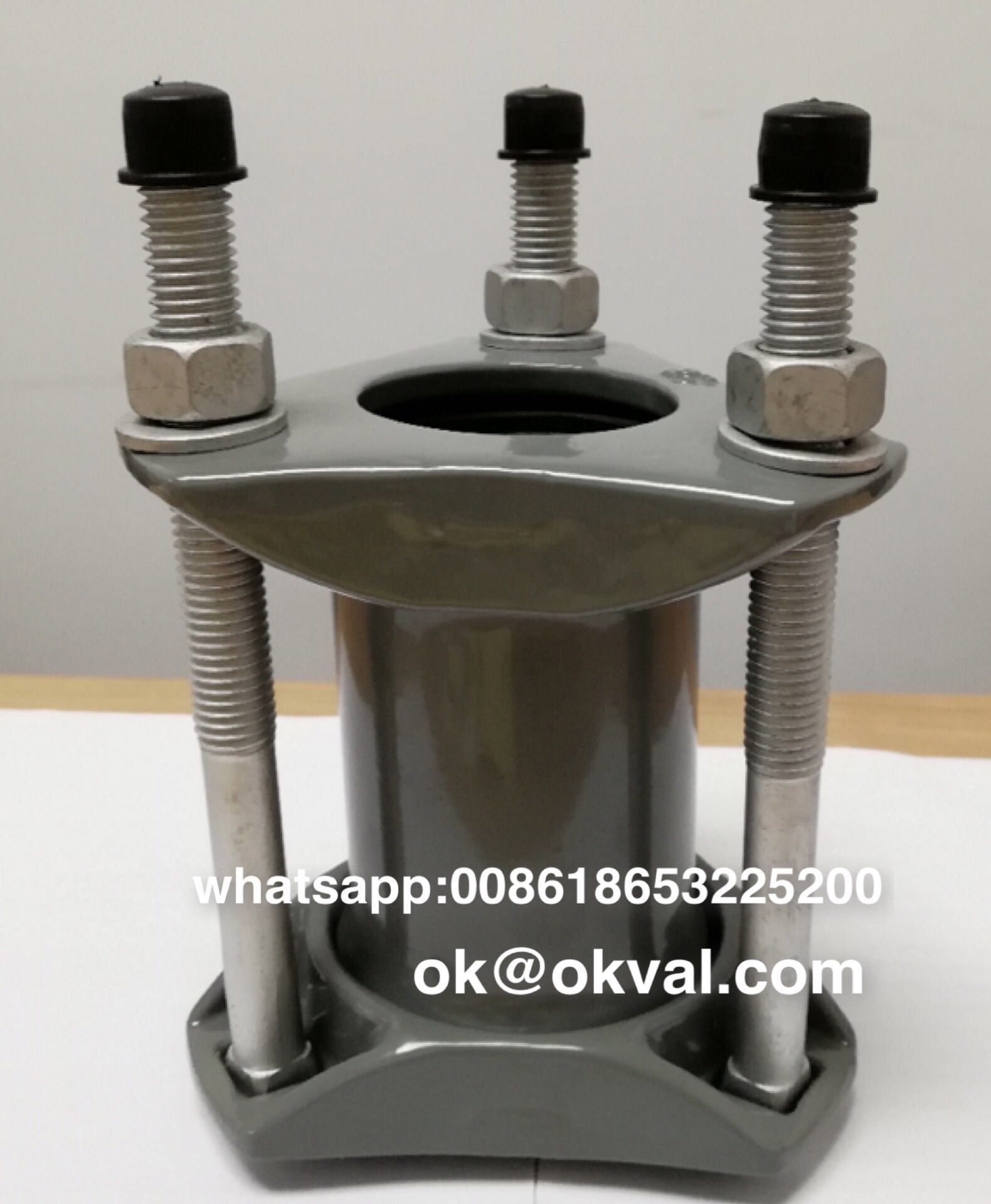 Okval Bolt Sleeve Coupling Dresser Couplings Sizes From 1 2 Through 12 Available In Steel Pipe