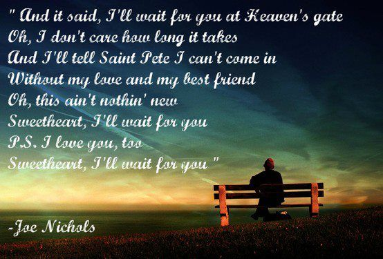 I'll Wait For You - Joe Nichols