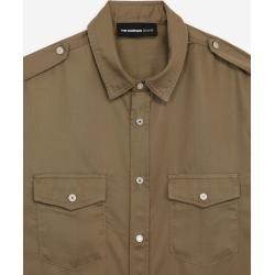 Photo of Das Kooples Khaki-Hemd im Militärstil – Damenthekooples.com