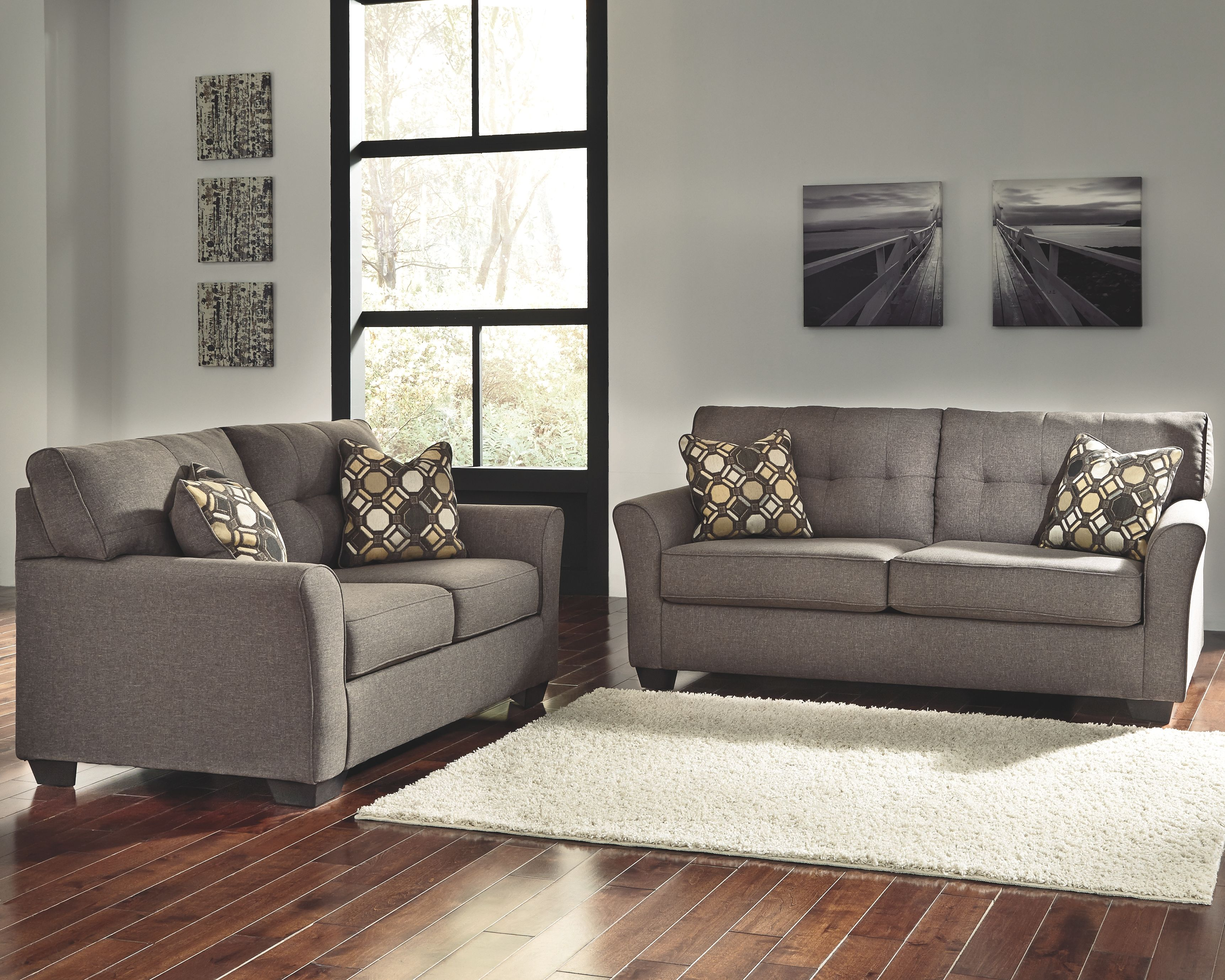 Tibbee Sofa And Loveseat Slate In 2020