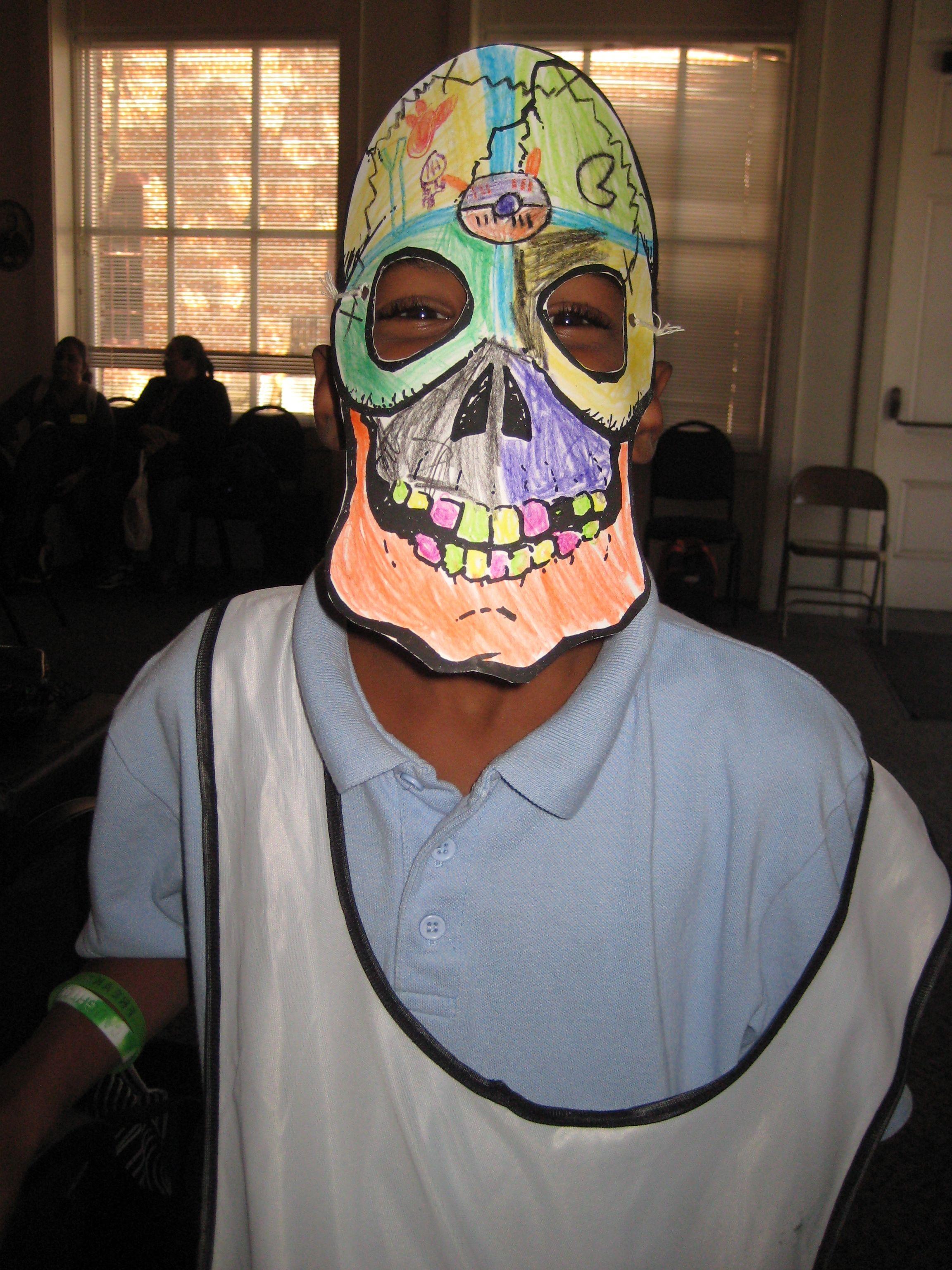 Diá de los Muertos Mask Craft
