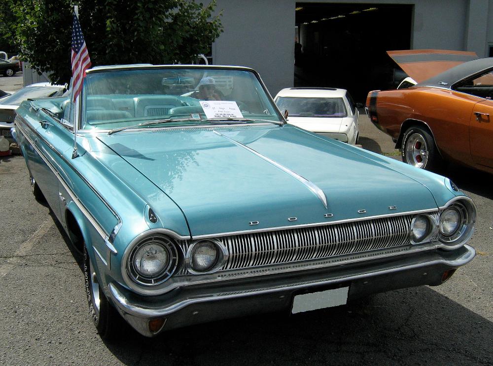 1964 Dodge Polara 500 Conv Front Dodge Polara Wikipedia In