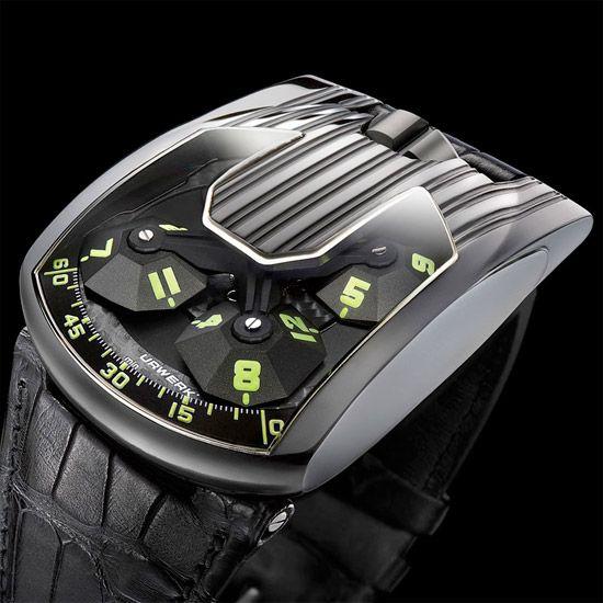 coolest watches gadgets urwerk ur103 hexagon best gadgets