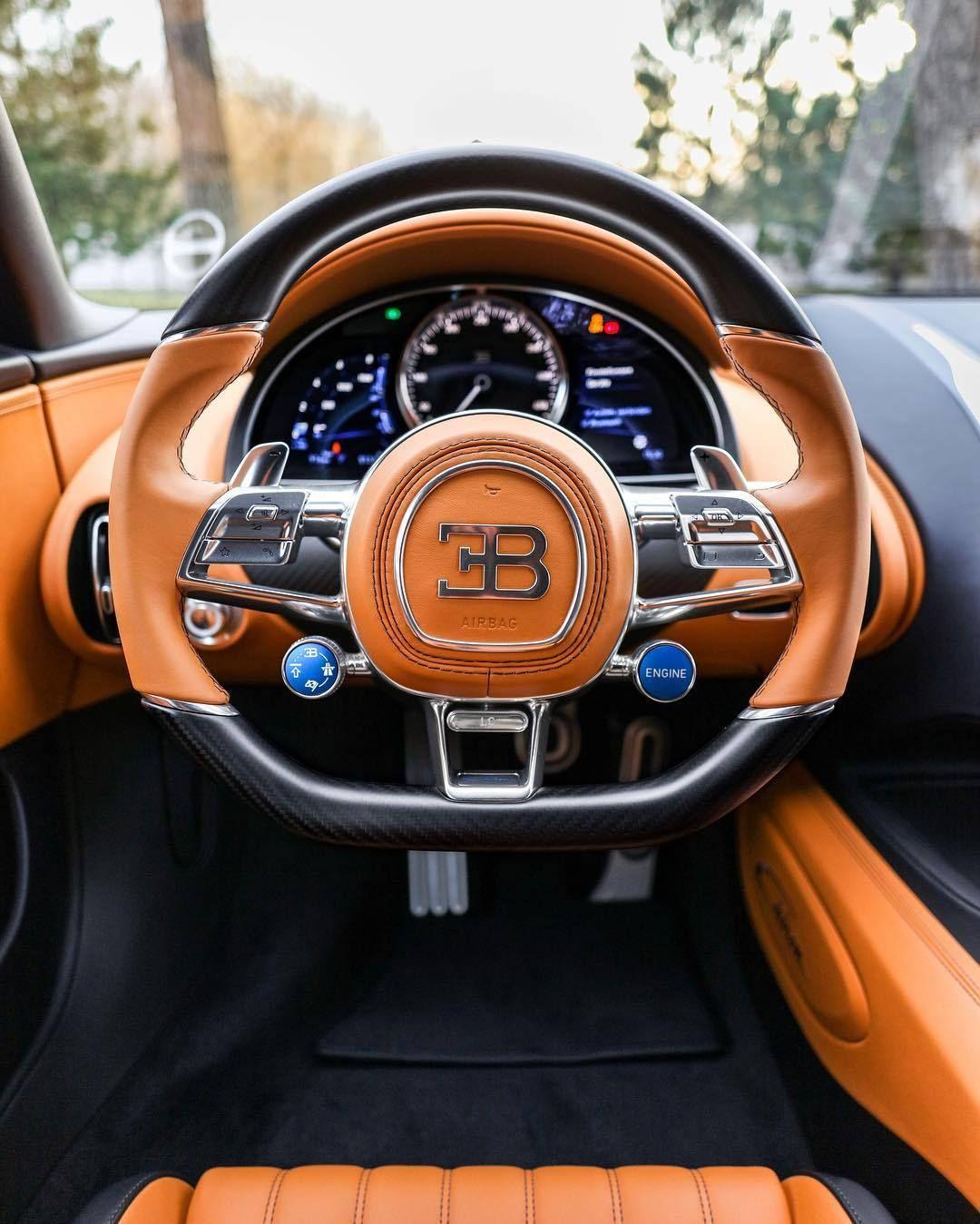 Bugatti Chiron Cockpit Bugatti Chiron Interior Bugatti Chiron Bugatti