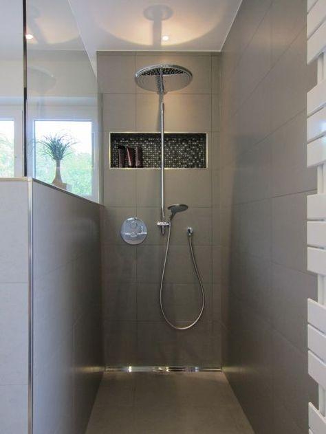 Die Dusche im Familienbad Wohnidee Pinterest Bath room - badezimmer 10 qm