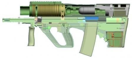 18+ 40mm rifle information