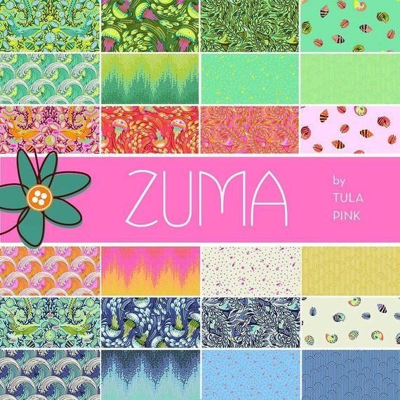 f8bfe25d1c1371 Aurora Quilt Kit Featuring Zuma by Tula Pink