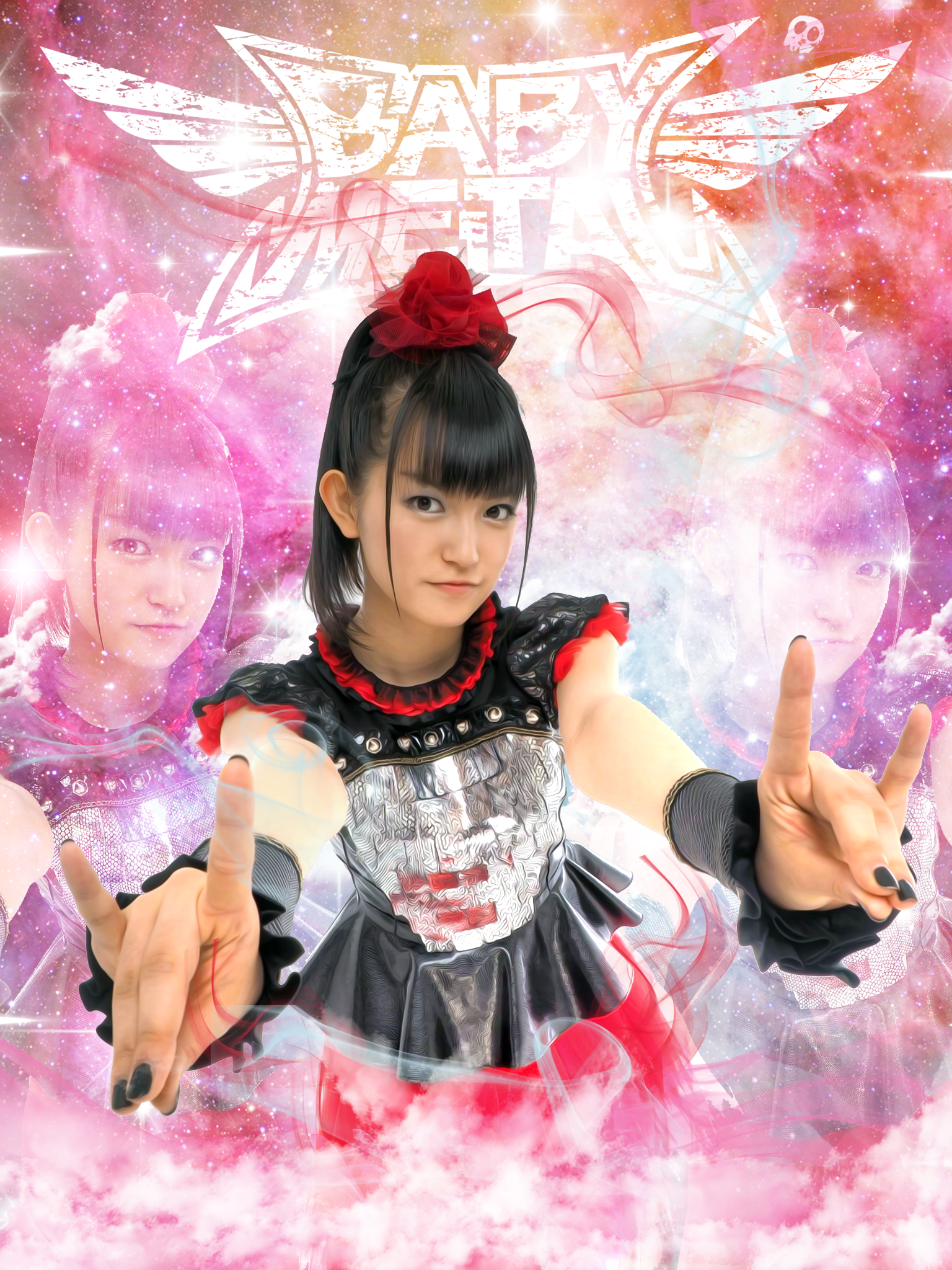 sumetal wallpaper / babymetal Metallic wallpaper, Metal