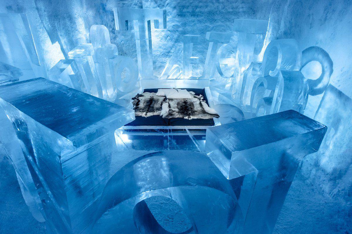 Een kijkje in 's werelds eerste permanente ijshotel: http://ow.ly/Yid53077DZV  ICEHOTEL hotel