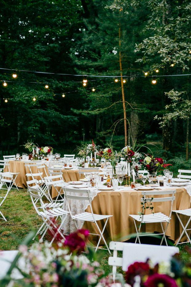 Un Mariage Parif Dans La Forêt Wedding Party Planning And Venues