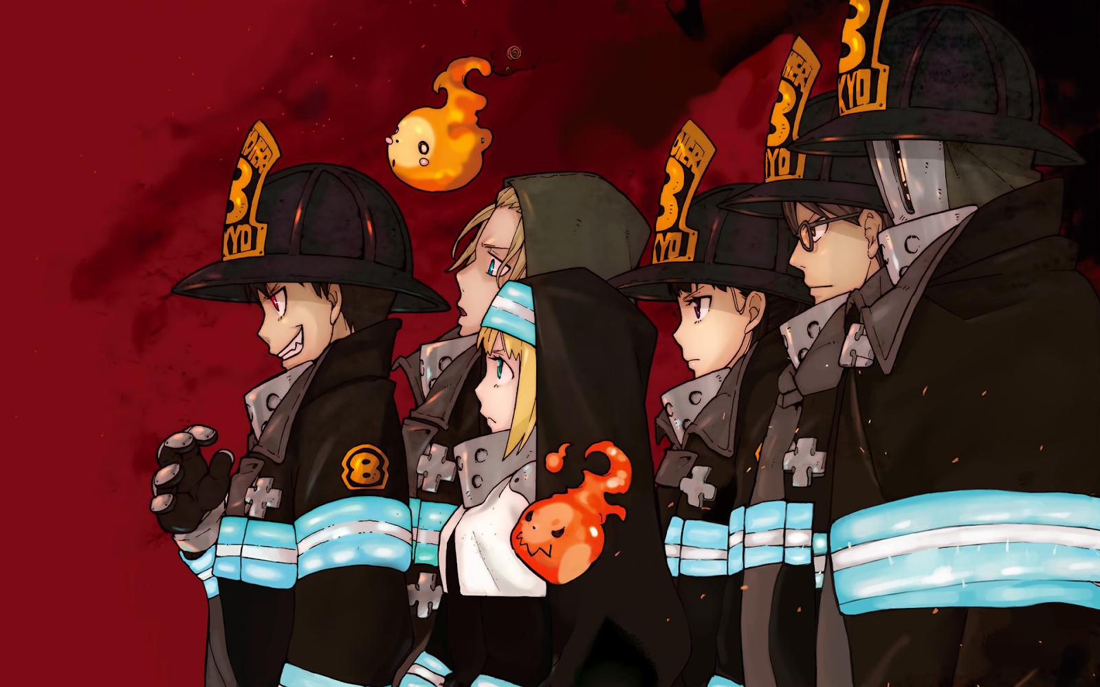 Transmisión del anime ''Fire Force'' es postergada por la