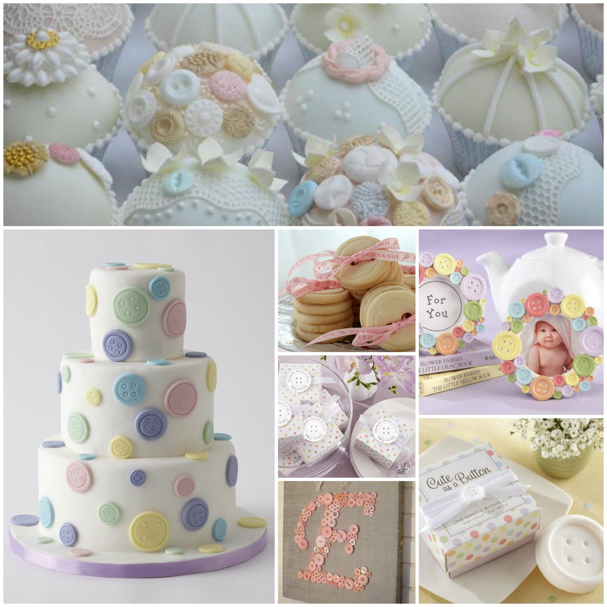"""Cute as a Button"""" Baby Shower  Baby shower fun, Sprinkle baby"""