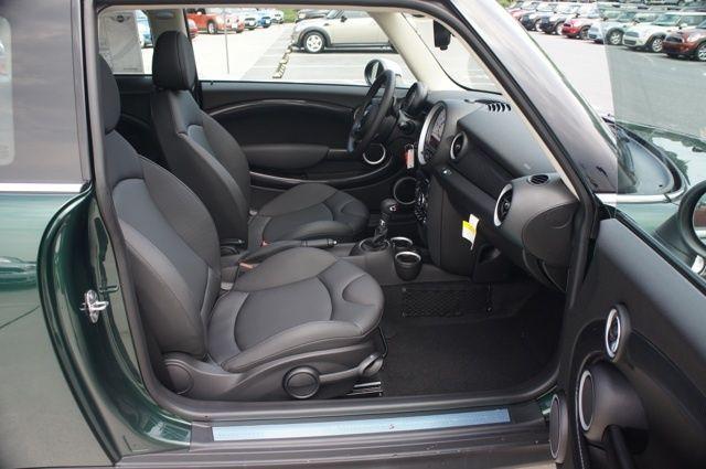 Carbon Black Leatherette On A 2013 Mini Cooper S Hardtop