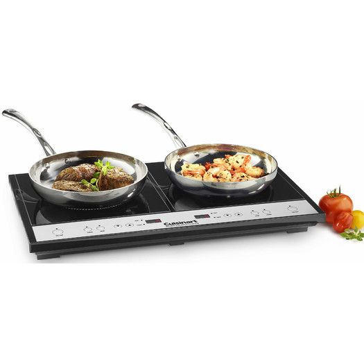 Cuisinart 26 75 Electric Induction Cooktop With 2 Burners 169