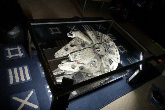 Millenium Falcon Coffee Table Star Wars Room Lego Room