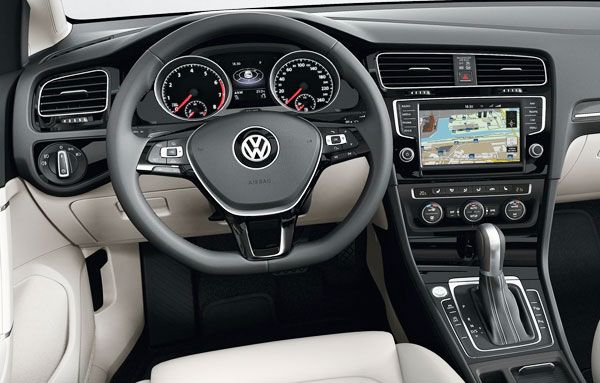 New Volkswagen Golf 7 The Most Popular Vw Car Review Interior