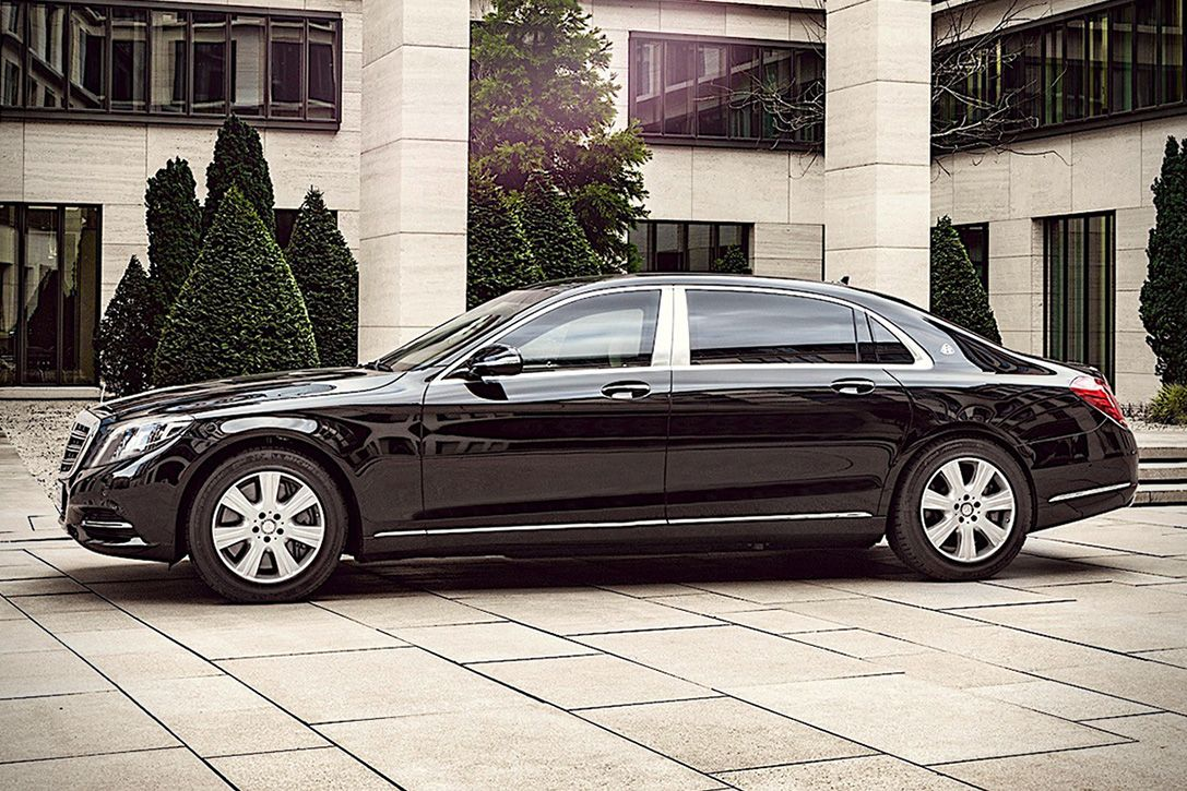 2017 Mercedes Benz Maybach S600 Guard