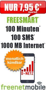 Freesmart 1000 7 95 Mit Vodafone Freesmart 1000 Mb Ohne Laufzeit Vertrag Handyvertrag Vertrag Handy