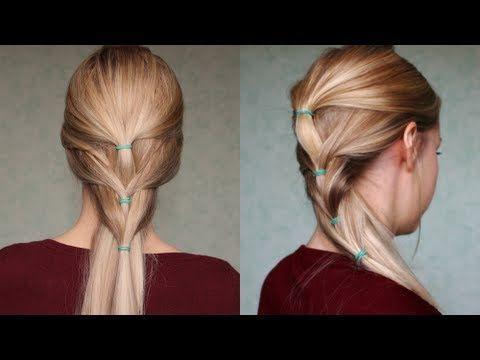 Jolie coupe de cheveux facile