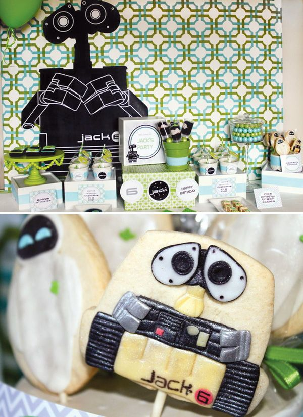 Super Cute WALL E Inspired Birthday Party A New Favorite At Our House The Clab Or Claw Is Such Fun Simple Toy I Will Have To Figure Out How