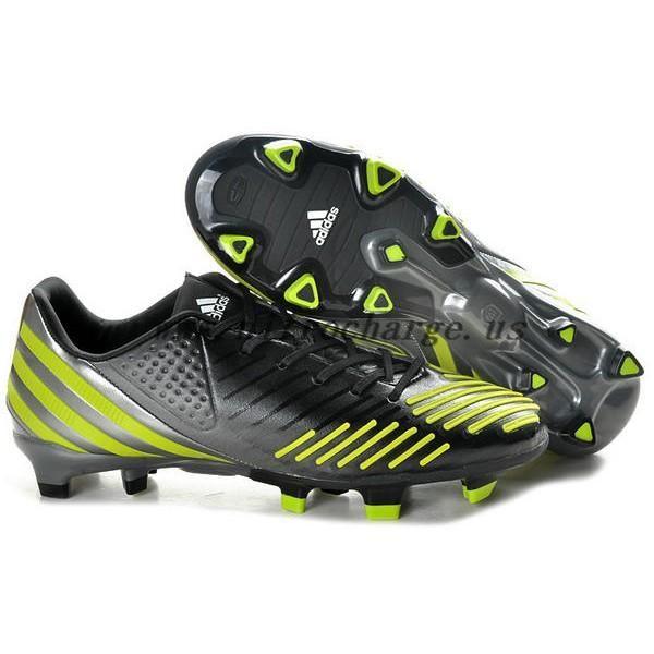 Buy Robin van persie - Adidas Predators 2012 LZ TRX FG Black Green ... 797c564137
