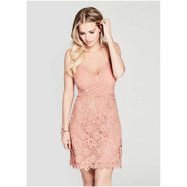 Guess By Marciano Traci Lace Dress 198 Liked On