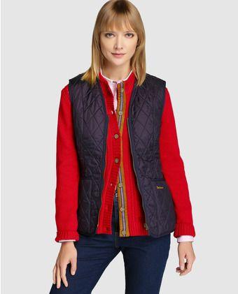 e3fe6d76458c Chaleco de mujer Barbour | Abrigos/ Americanas/ Kimonos | Moda, Moda ...