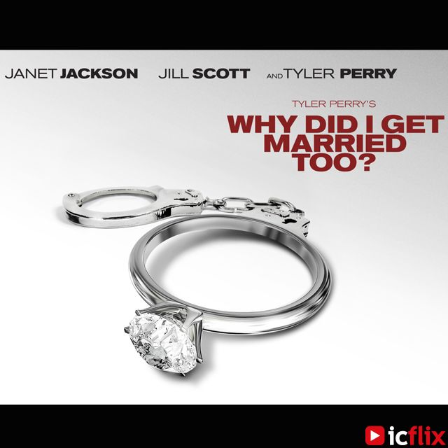Watch Why Did I Get Married Too ? on #icflix Four couples find themselves struggling to save their marriages once again. #WhyDidIGetMarriedToo #Sequel #WhyDidIGetMarried #Comedy #ComedyMovie #Movie #TylerPerry #JanetJackson #JillScott #TashaSmith #LouisGossettJr #MalikYoba #MichaelJaiWhite #SharonLeal #RichardTJones #LammanRucker #CicelyTyson http://www.icflix.com/#!/movie/387a2992-e4d1-4c12-80ad-be6da468e283