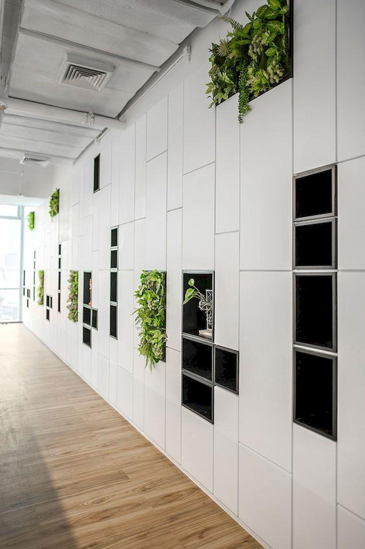 Indoor Garden Office and Office Plants Design Ideas For Summer