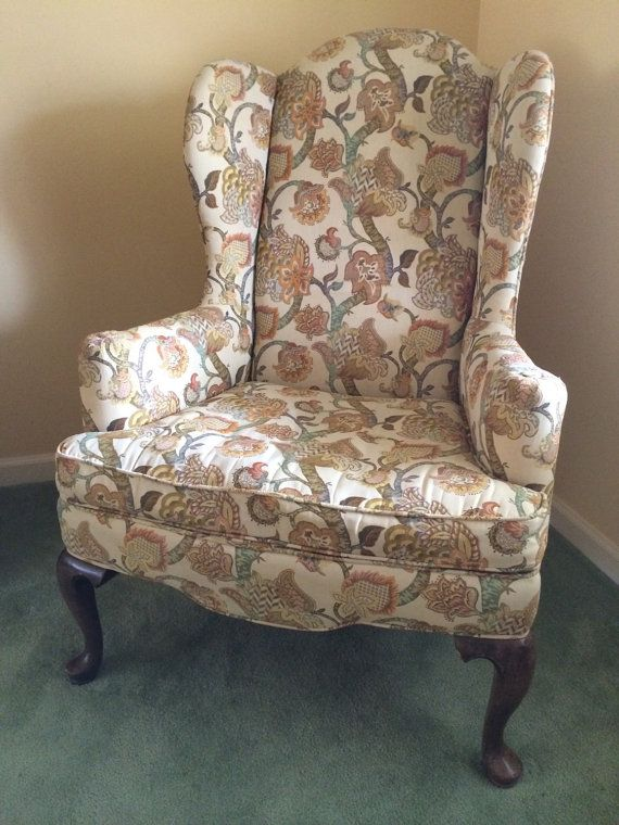 Gentil Vintage Ethan Allen Wingback Chair By CottageBlu On Etsy