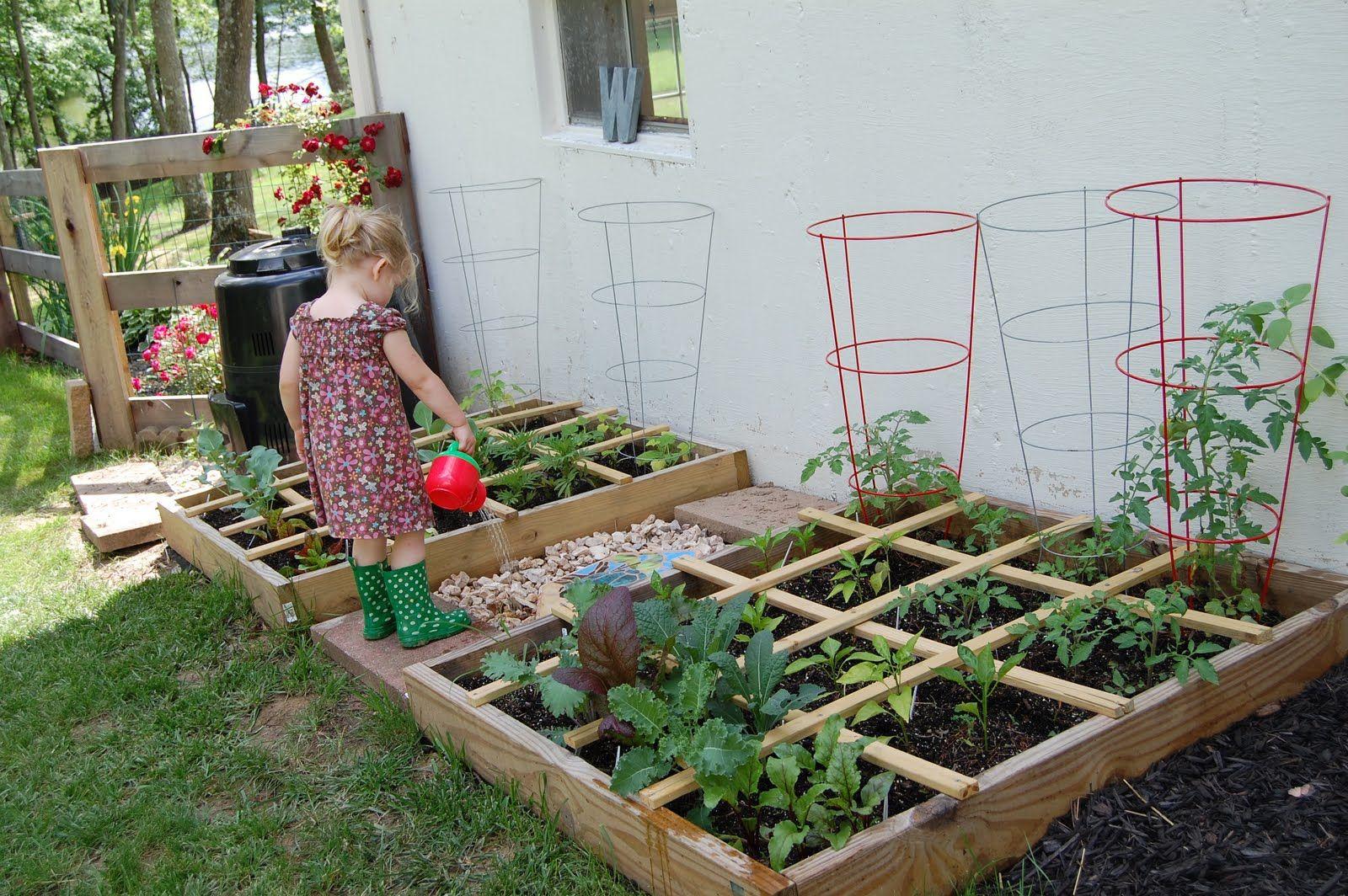 как огород сделать красивым своими руками фото