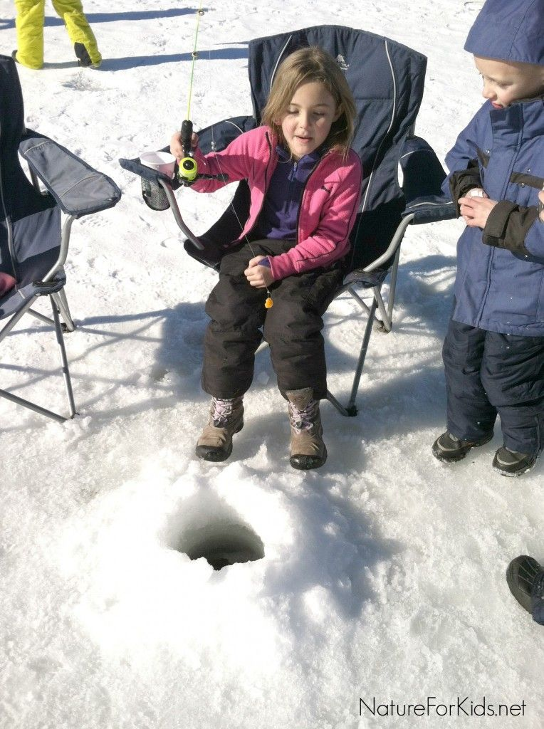 Ice Fishing With Kids + two tips to know before you go