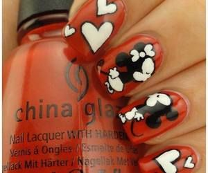 Minnie and mickey nails nailart naildesign nails art and minnie and mickey nails nailart naildesign prinsesfo Image collections