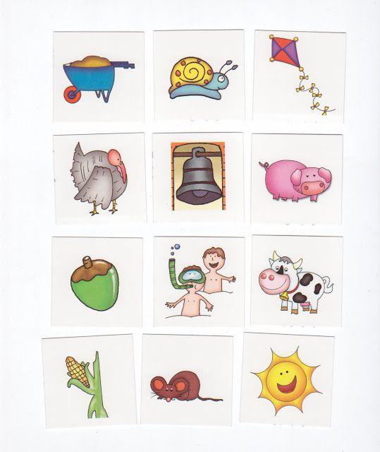 Lotto 7, free printable / LOTO DE AMBIENTES - silaine - Picasa Webalbums