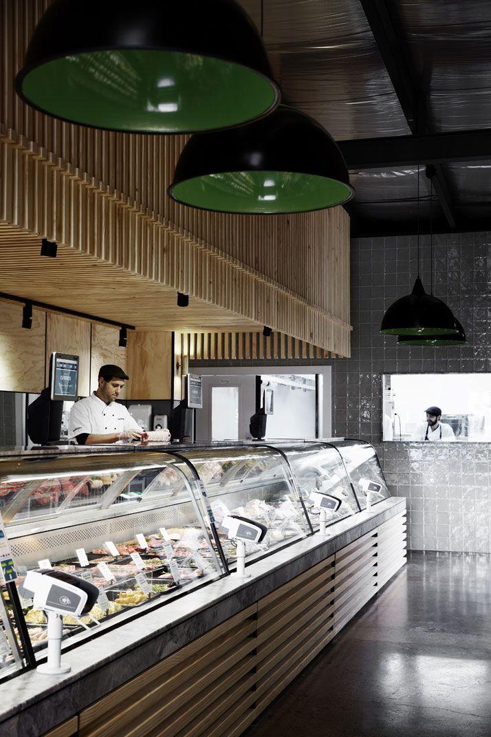 The Butchers Kitchen Melbourne : A well-designed butchery in Melbourne, Australia supermercados Butcher shop, Store interiors ...