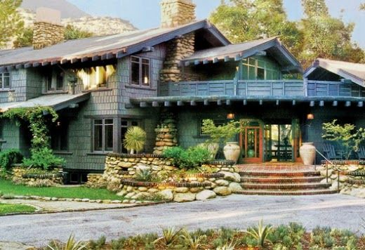 Pratt House Also Called Casa Barranca In Ojai Ca A