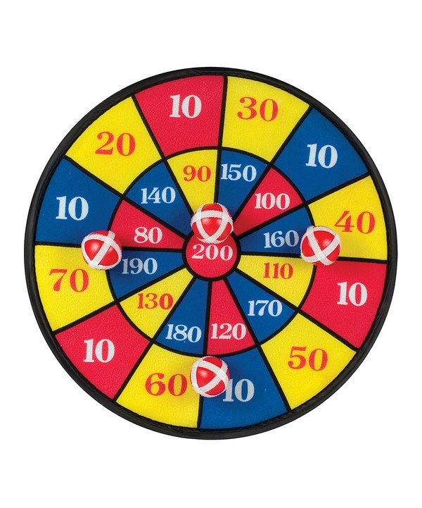 Look At This Velcro Dart Board Toy Set On Zulily Today