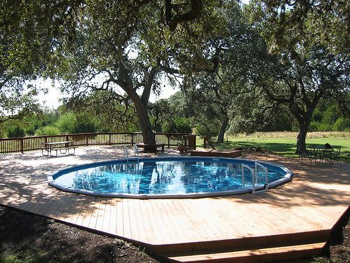 30 Ft Round Above Ground Pool Put In Spring Branch