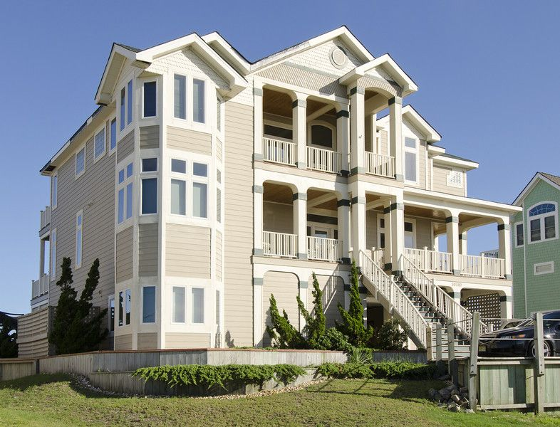My Beautiful Wedding Location 3 Hatteras NC Oceanfront Rental Home Outer Banks Vacation
