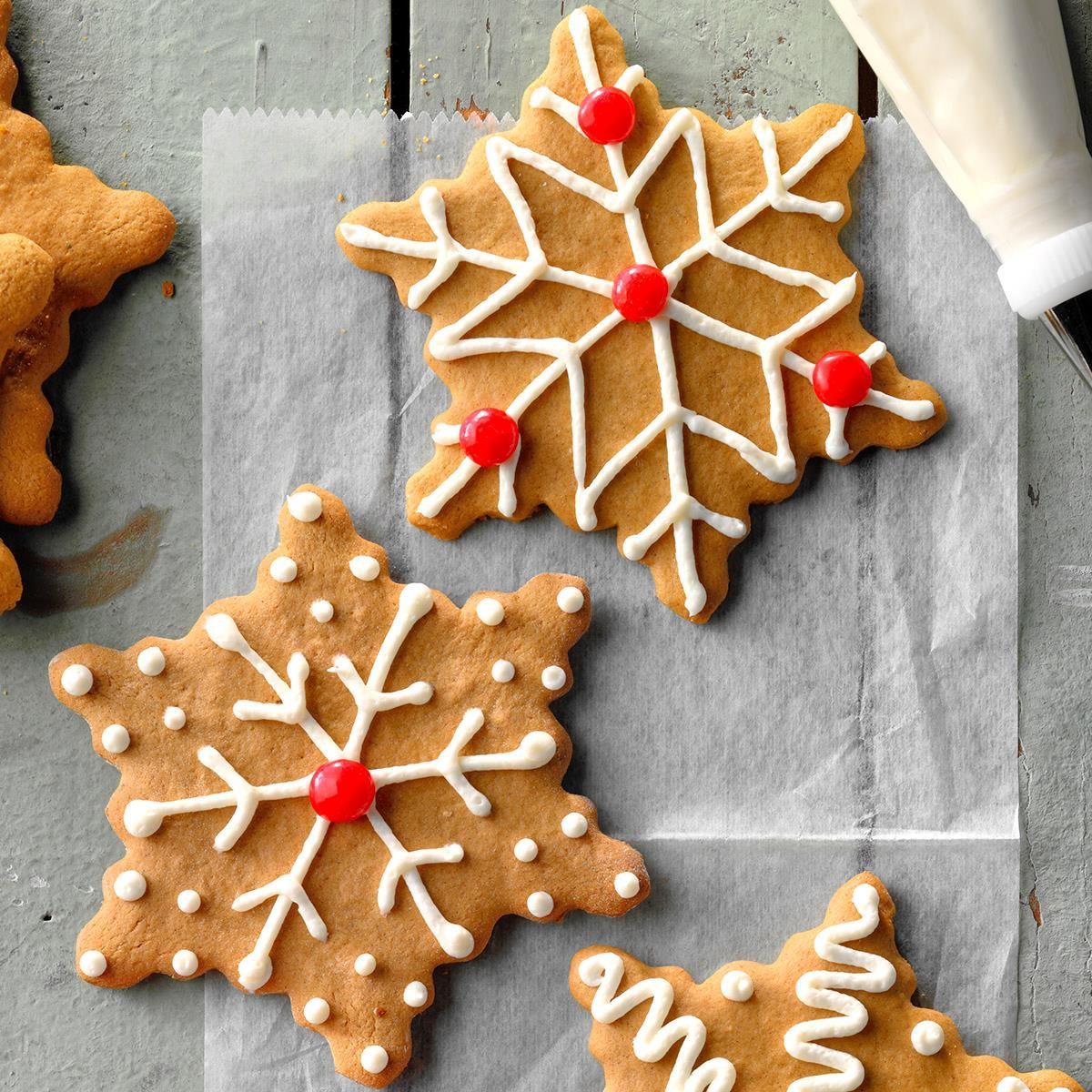 Easy Gingerbread Cutouts Recipe Gingerbread