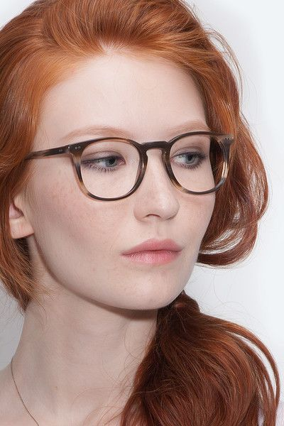 Busty red heads with glasses-5725