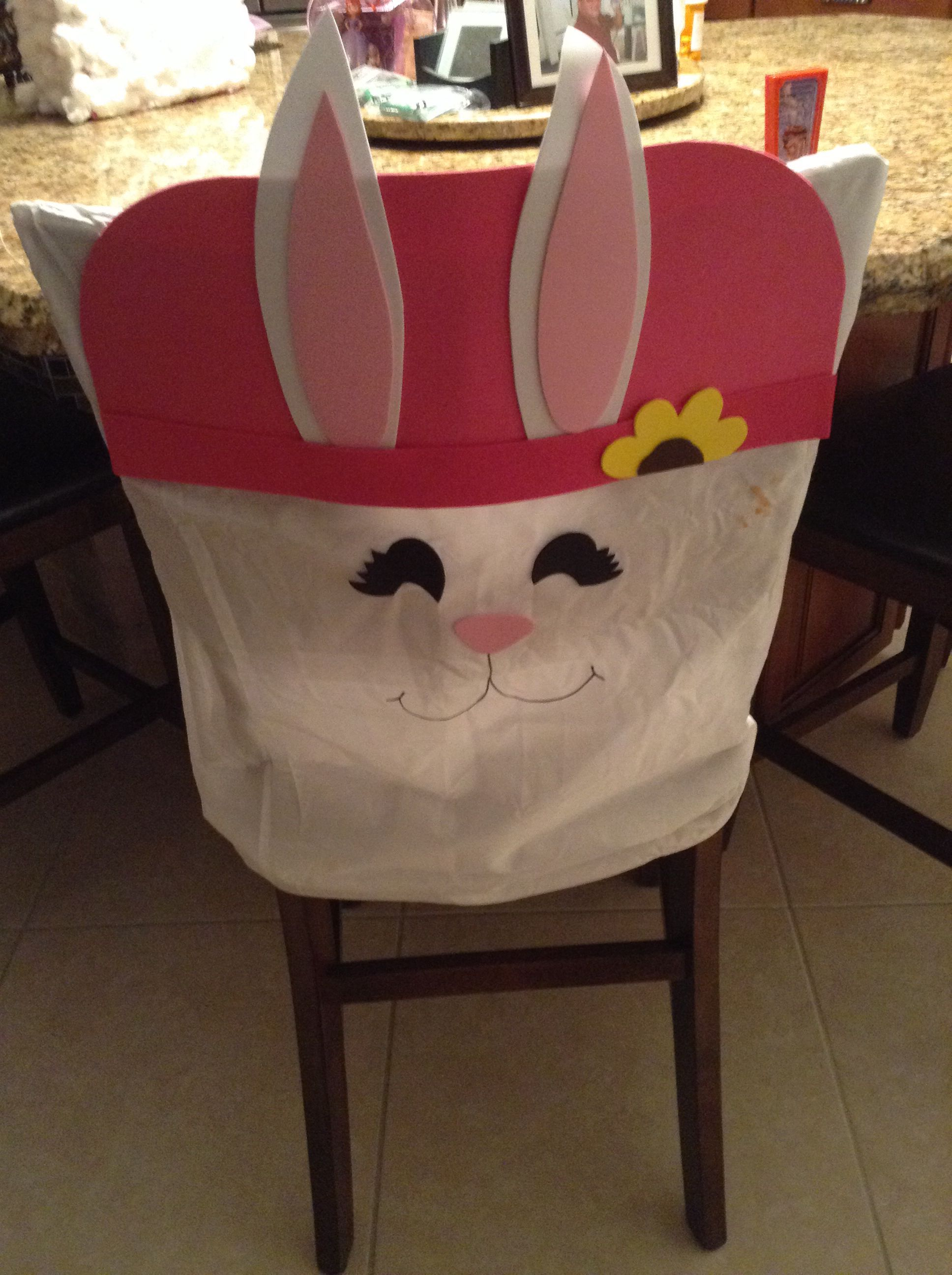 Wondrous Easter Chair Cover Crafts Chair Back Covers Chair Spiritservingveterans Wood Chair Design Ideas Spiritservingveteransorg