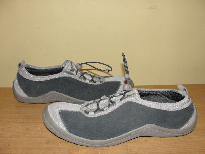 naturalizer PERCENTAGE Gray Suede Leather Slip-on Sneakers Loafers Flats Sz 10M #Naturalizer #LoafersMoccasins #Casual