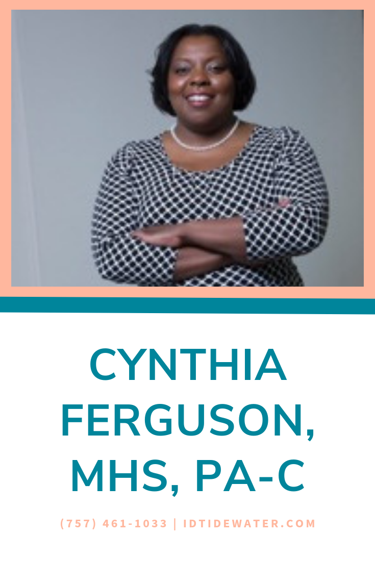 Cynthia Ferguson, MHS, PAC specialized in medical and