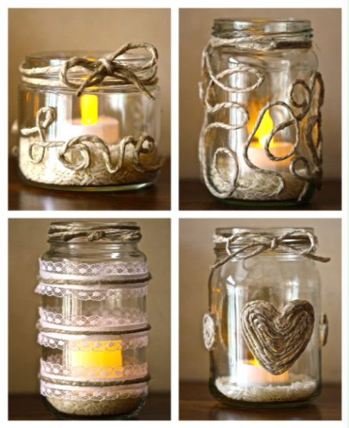19 Diy Candle Holder Ideas Transform The Entire Area Crafts With Glass Jars Mason Jar Diy Diy Candle Holders