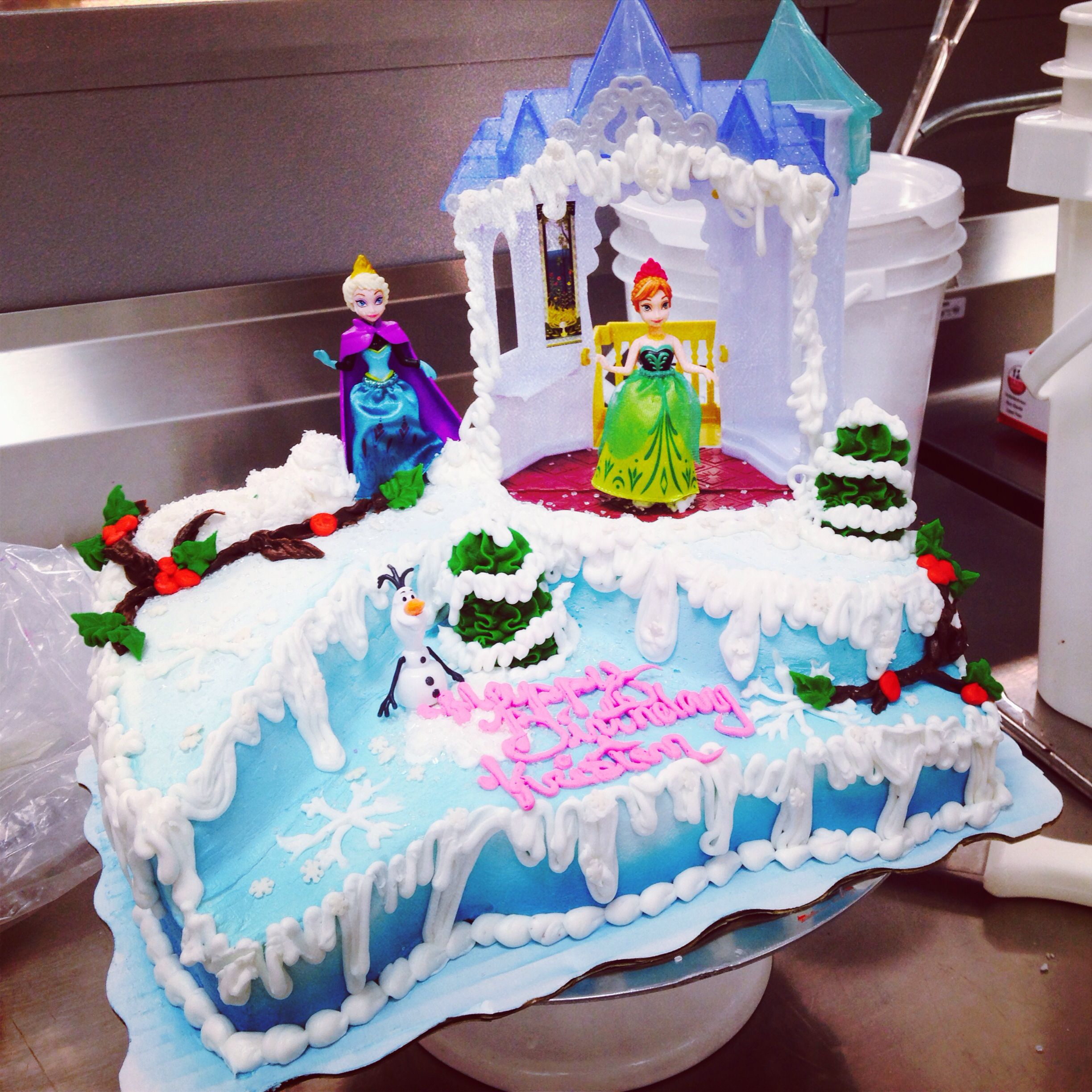 Disney Frozen Cake Signature Sheet