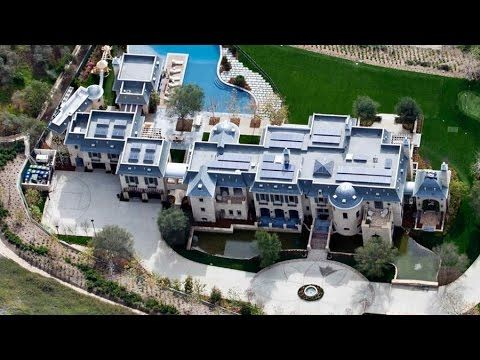 Biggest House In The World 2016 top 10 rappers mansions homes 2016 | homes in the us | pinterest