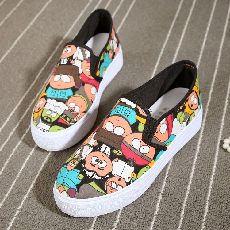 VANS X south park artist shoes Off the Wall slip on  Vans ... 5a9a48877