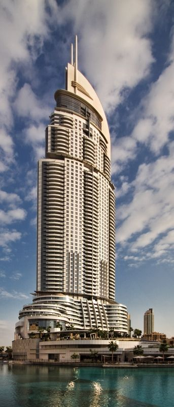 The Address, Dubai, UAE :: 72 Floors, Height 370m